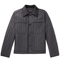 Craig Green Slim Fit Quilted Shell Jacket Gray