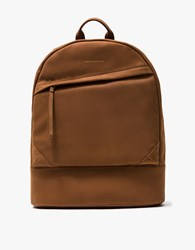 Want Les Essentiels Kastrup 13 Backpack Cognac Suede