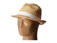Vince Camuto Twisted Weave Fedora Cloud Dancer Fedora Hats Multi