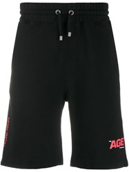 Filling Pieces Age Track Shorts Black