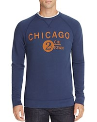 Junk Food Chicago Graphic Sweatshirt 100 Bloomingdale's Exclusive New Navy
