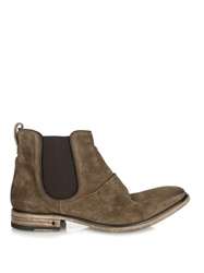 John Varvatos Distressed Suede Chelsea Boots