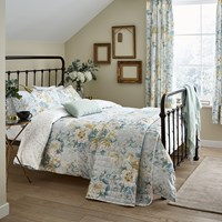 Sanderson Giselle Duvet Set Duck Egg Blue