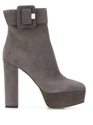 Sergio Rossi 120Mm Platform Buckled Boots 60