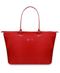 Lipault Lady Plume Large Tote Bag Ruby