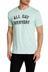 Kid Dangerous All Day Everyday Front Graphic Print Tee Green