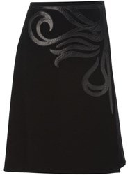 Bottega Veneta 'Chrysanthemum' Skirt Black