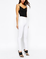 New Look White Disco Jean