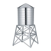 Alessi Water Tower Container Stainless Steel