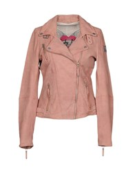 Freaky Nation Jackets Pastel Pink