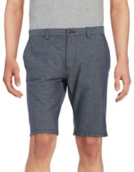Selected Striped Cotton Shorts Total Eclipse