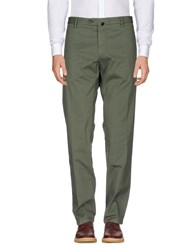Scaglione City Casual Pants Military Green