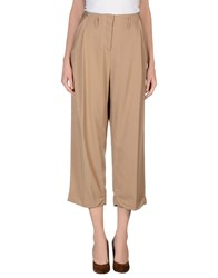 Max And Co. Trousers Casual Trousers Women Sand