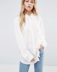 Weekday Tunic Shirt White