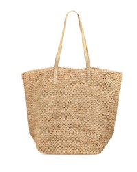 Flora Bella Tybee Beach Tote Bag Beige