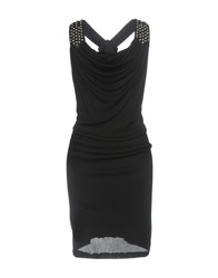 Jay Ahr Short Dresses Black