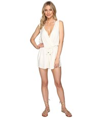O'neill Danika Romper Cover Up Vanilla Women's Jumpsuit And Rompers One Piece Bone