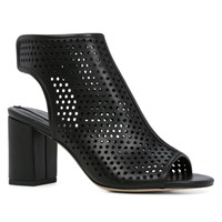 Aldo Kedilacia Block Heel Open Toe Shoes Black