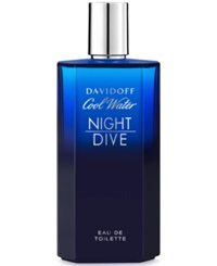 Davidoff Cool Water Nightdive Eau De Toilette 4.2 Oz