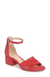 Vince Camuto Women's Florrie Ankle Strap Sandal King Crab Suede