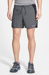 Men's Patagonia 'Strider Pro' Stretch Woven Running Shorts Forge Grey