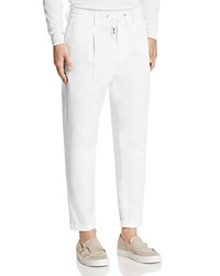 Eleventy Relaxed Fit Jogger Pants 100 Bloomingdale's Exclusive White