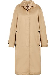 Mackintosh Beige Denim Coat D Wc008d Blue