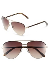 Original Penguin 'The Charley' 59Mm Sunglasses Matte Gold Gradient Brown