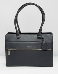 Modalu Erin Structured Tote Black