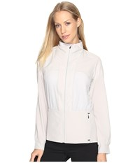 Brooks Fremont Jacket Heather Sterling Women's Coat White