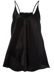 Alexander Wang T By V Neck Camisole Black