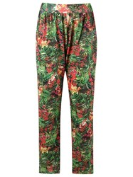 Lygia And Nanny High Waisted Trousers Green
