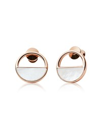 Skagen Earrings Elin Rose Gold Tone Stud Earrings