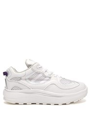 Eytys Jet Turbo Leather And Mesh Trainers White