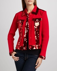 Berek Dark In Fall Knit Jacket Petite