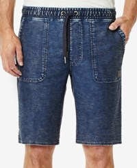 Buffalo David Bitton Men's Fidlamy Stretch Shorts Indigo