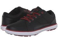 Callaway Del Mar Ballistic Black Black Crimson Men's Golf Shoes