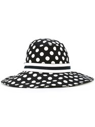 Dolce And Gabbana Polka Dot Hat Black