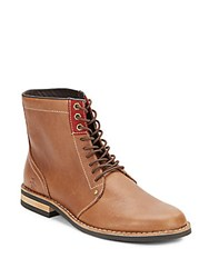 Original Penguin Jerry Jeff Lace Up Boots Tan