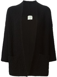Forte Forte Open Front Cardigan Black