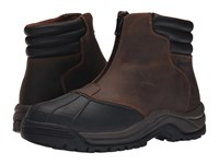 Propet Blizzard Mid Zip Brown Black Men's Lace Up Boots