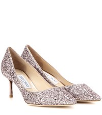 Jimmy Choo Romy 60 Glitter Pumps Pink