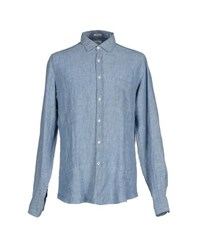 Hartford Shirts Shirts Men Sky Blue