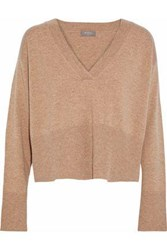 N.Peal Cropped Cashmere Sweater Sand