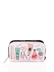 Le Sport Sac Rifle Paper Co. X Lesportsac Beauty Essentials Cosmetic Pouch White Multi