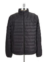 Hawke And Co Packable Down Coat Black