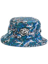 Kenzo Flying Tiger Bucket Hat Blue