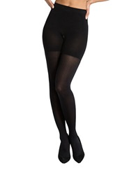 Spanx Striped Tights Very Black