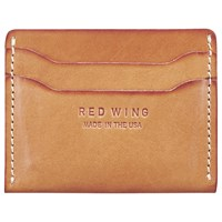 Red Wing Shoes Leather Card Holder Tan