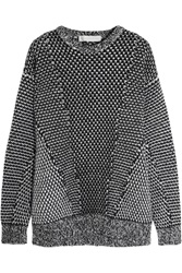 Stella Mccartney Oversized Wool And Angora Blend Sweater